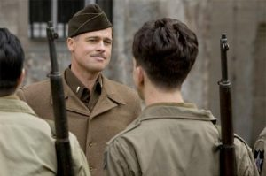 Let's all kill Nazis for Brad Pitt!