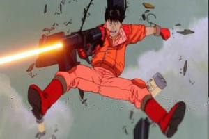 Hey, have I ever mentioned that Kaneda goes up against TWO powerful psychics with nothing but a laser gun and he wins? I'd put him in a battle, but no other character has that much awesome.