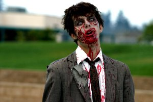 Hell, maybe the boy next door IS a zombie. He's always going on about how he loves you for your braaaains.