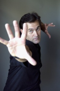 I stand by my previous assertions that Bruce Campbell is a god.