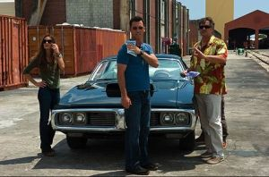 Michael Westen's car also gets to hang out with Bruce Campbell, making it the luckiest car ever.