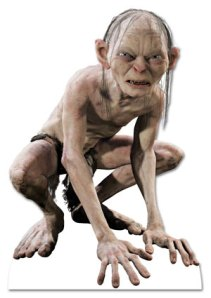 I feel a little bit wrong about using an image of Gollum, but you've got to admit: he's got dramatic range!