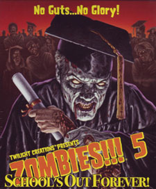 Zombies don't usually actually graduate.