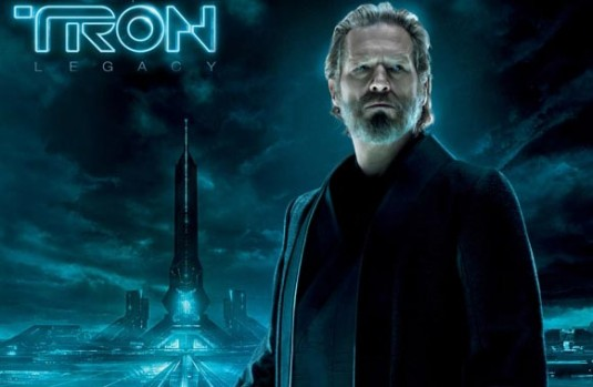 jeff bridges tron legacy young. Tron Legacy is so shiny and