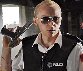 hot fuzz film analysis The film opens with primal scream's loaded and at the very end when gary and andy  mike in spaced, ed in shaun of the dead, danny in hot fuzz, and andy in the.