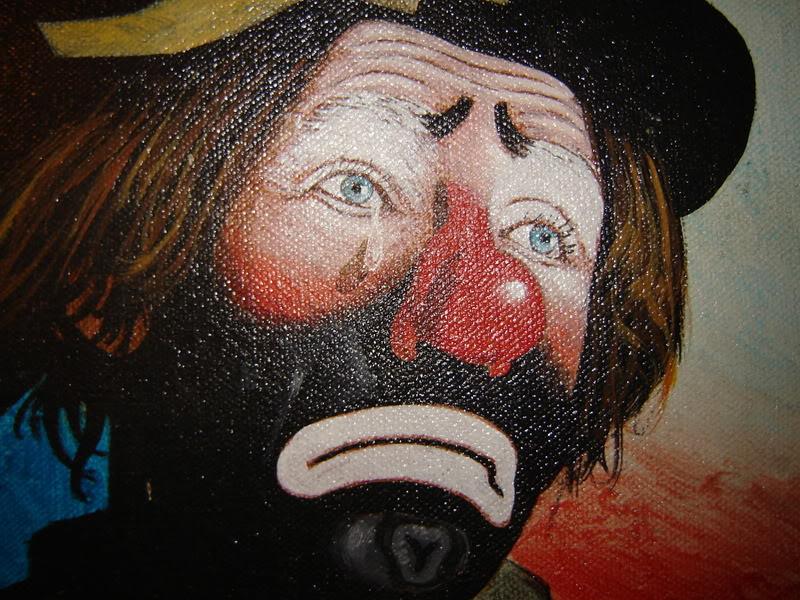 famous sad clown paintings wwwimgkidcom the image