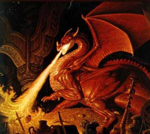 Rawr Im A Scary Dragon