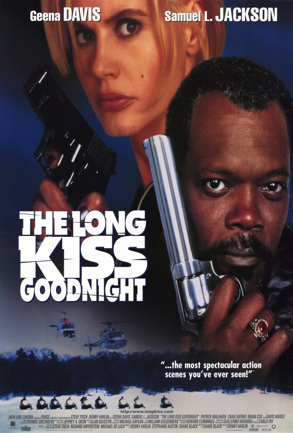 the long kiss goodnight, samuel l. jackson, geena davis, action, adventure