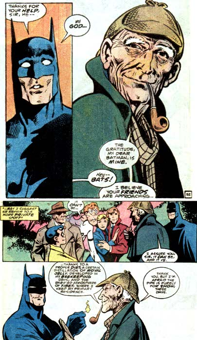 Sherlock Holmes vs. Batman | Hollywood Hates Me Christian Bale Imdb