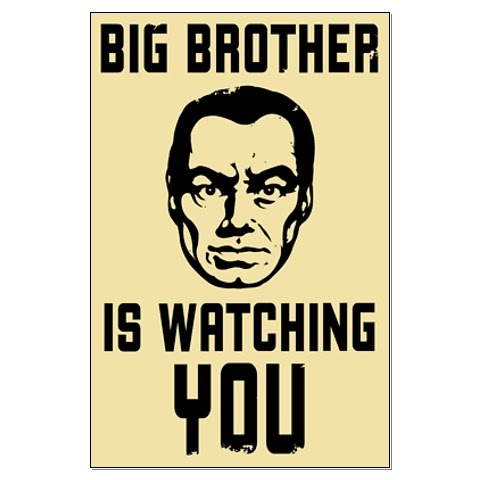 the influence of big brother in george orwells 1984 Although o'brien confirms the existence of big brother 1984 george orwell buy share buy home essay questions.