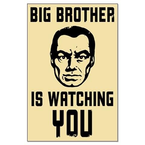George Orwell Dear Big Brother In