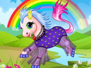 """I poop rainbows!"""