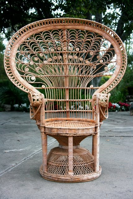 Elegant The Wicker Chair Conundrum » Peacock Wicker Chair. U201c
