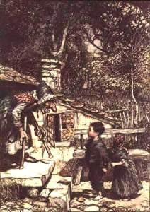 The funny thing about fairy tales is, when the Grimm brothers cleaned them up for public consumption, they removed a lot of the sex and added more violence. Just like movies now!