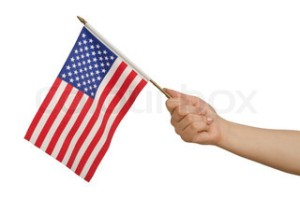 Wait! I take back that thing I said about confiscating my miniature flag! I need it for waving at the TV during the Olympics! Go, Team USA!