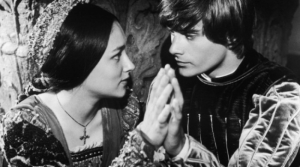 Plus this photo, for if you're too lazy to click the link: It's Romeo and Juliet, you guys. Romeo and Juliet!