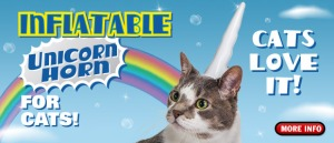 "I love that the ad declares ""Cats love it!"", because, shyeah, like cats love anything."