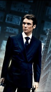 A photo of Cillian Murphy, because Cillian Murphy has cheekbones that could kill, that's why.