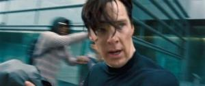 Evil Sherlock Holmes has even floppier hair than Non-Evil Sherlock Holmes.