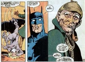 Sherlock Holmes > Batman.