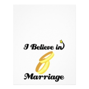 Marriage: A thing that has existed for centuries, if not millennia.