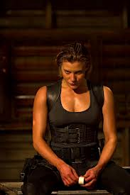 Katee Sackhoff always looks like she's about to hurt somebody.