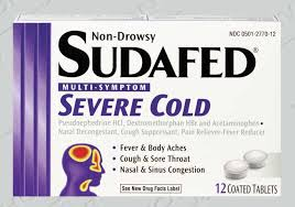 "I wonder if it's possible to buy meth and make it into Sudafed Severe Cold (original formula). And also to get off all the watch lists I'm probably on after using the word ""meth"" so many times in one post."