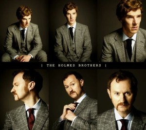 And then I used this picture, because HOLMES BROTHERS.