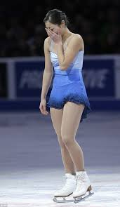 Especially since, without her, our ladies figure skating team is awfully blonde.