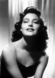 And this is the smoking hot Ava Gardner.