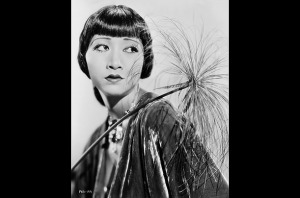 Meanwhile, the stunning Anna May Wong, a fourth-generation American of Chinese descent, was TOO Chinese to play Chinese roles. Dammit, Studio-Era Hollywood, stop testing my love for you.