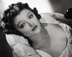 Myrna Loy was from Montana, like me! Unlike me, she was often chosen to play Chinese people in films, because Hollywood in the '20s and '30s was pretty racist and stupid. Also, they still are today.