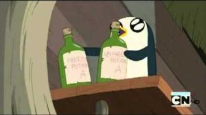 Bad penguin! Bad!