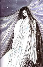 Unlike other snow queens, yuki onna is always a brunette.