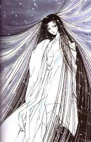 Unlike other snow queens, yuki onna is always a brunette.