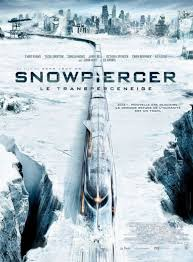 It's the movie where the earth gets frozen over, and the only people alive are trapped on this train, and Chris Evans is in it, because he is awesome.