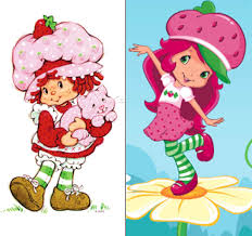 Looks like Strawberry Shortcake's had some work done.