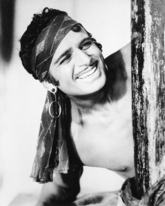 Nobody had any problem with Doug Fairbanks' upper body, though. For some reason.