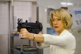 Oooh, but this one time, Helen Mirren played an assassin! And she's, like, SO OLD.