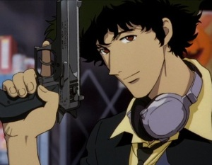 I would like to take this opportunity to pledge my undying love to Spike Spiegel. Look, folks, I have a lot of undying love to give, all right?
