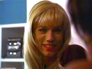Jeffrey Donovan does NOT look good as a blonde.