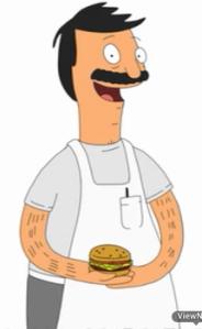 My perfect man is ALWAYS happy to be around hamburgers.