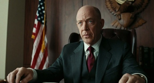 Is he playing the president? That would be really cool. If J.K. Simmons ran for president, I would totally vote for him. That would be cool.