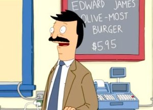 I would especially enjoy the Edward James Olive-Most Burger.