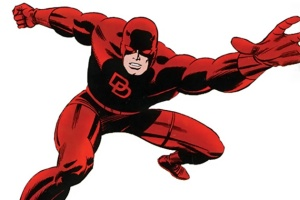 I'm actually familiar with Daredevil's origin, but being blind is still a silly superpower.