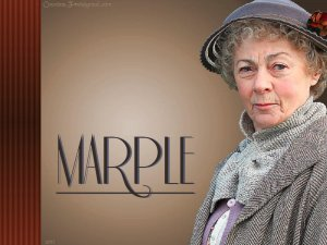 Miss Marple should always be a fluffy little old lady so the baddies never see her coming, DUH.
