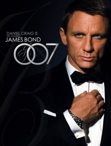 I'M SORRY I DON'T CARE ABOUT YOU, MR. BOND!