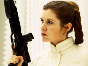 And Princess Leia is a badass.