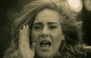 Um, Adele? That's not how phones work.
