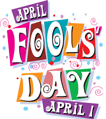 And to make matters worse, all the April Fools clip art is just terrible.